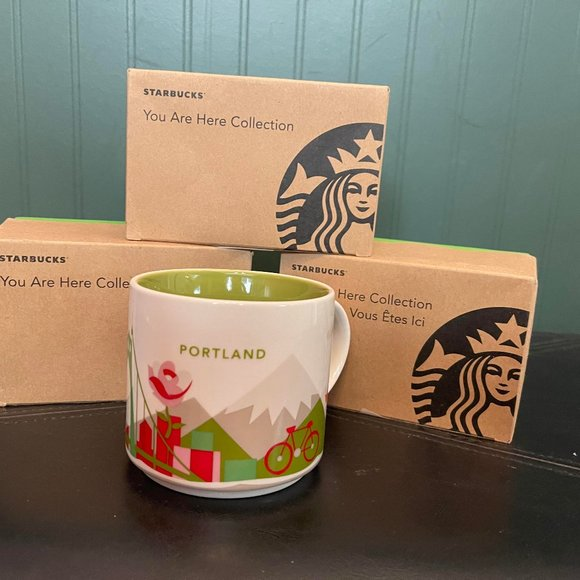 """STARBUCKS """"You are here collection"""" PORTLAND"""